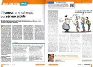 article Chef d entreprise mag Tricart