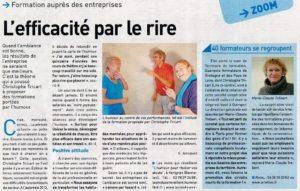 article Progres Cornouaille Tricart