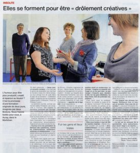 article OUEST France Tricart