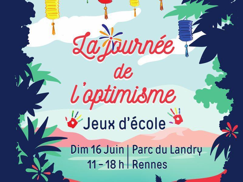 journée de l'optimisme à Rennes le 16juin2019