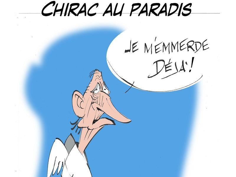 article sur l'humour de Jacques Chirac