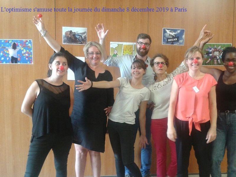 Journée de l'optimisme en action le dimanche 8 décembre 2019 à Paris