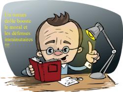 roman avec de l'humour