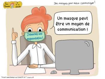 Permalink to: Des masques pour communiquer avec le sourire