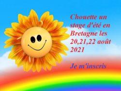 bulletin d'inscription du stage d'été humour positif à Trégunc, Bretagne, 20,21,22 août 2021